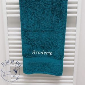 Serviette de douche de Witte Lietaer lake green