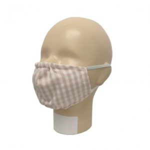 Masque buccal en tissu, coton biologique triple couche, filtre amovible, marque Popolini