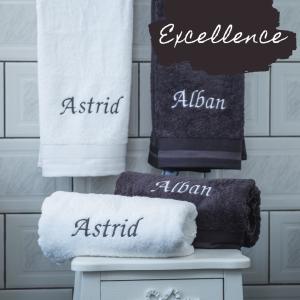 Serviettes de Witte Lietaer gamme excellence